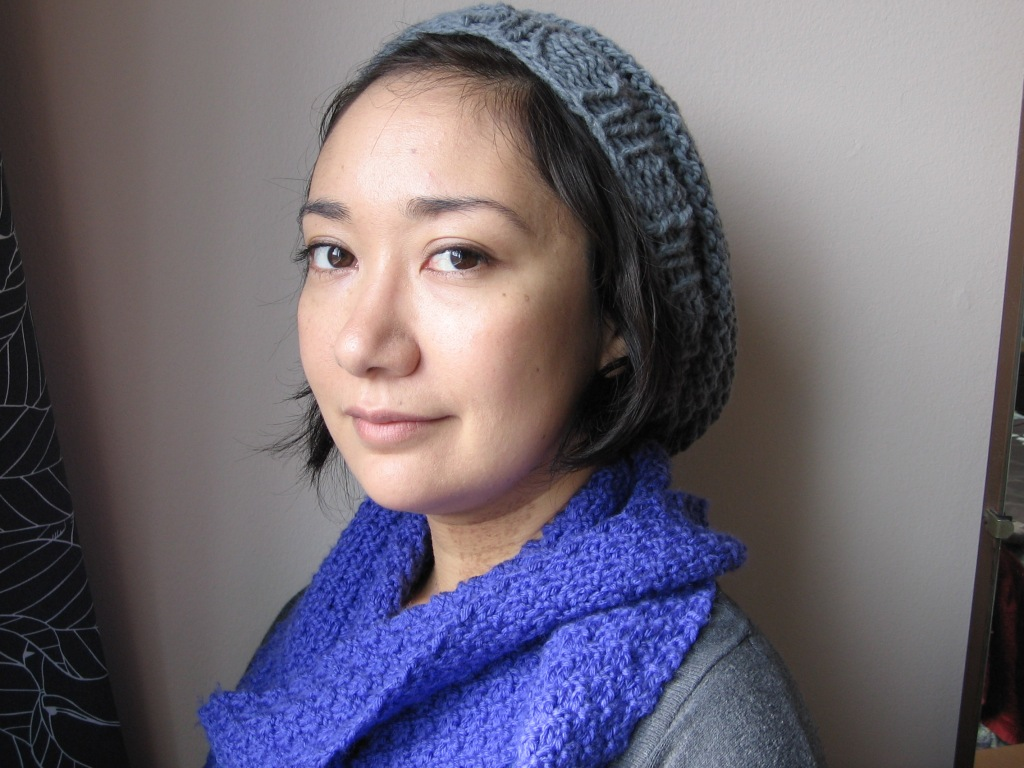 GamerWife in Hat and Scarf
