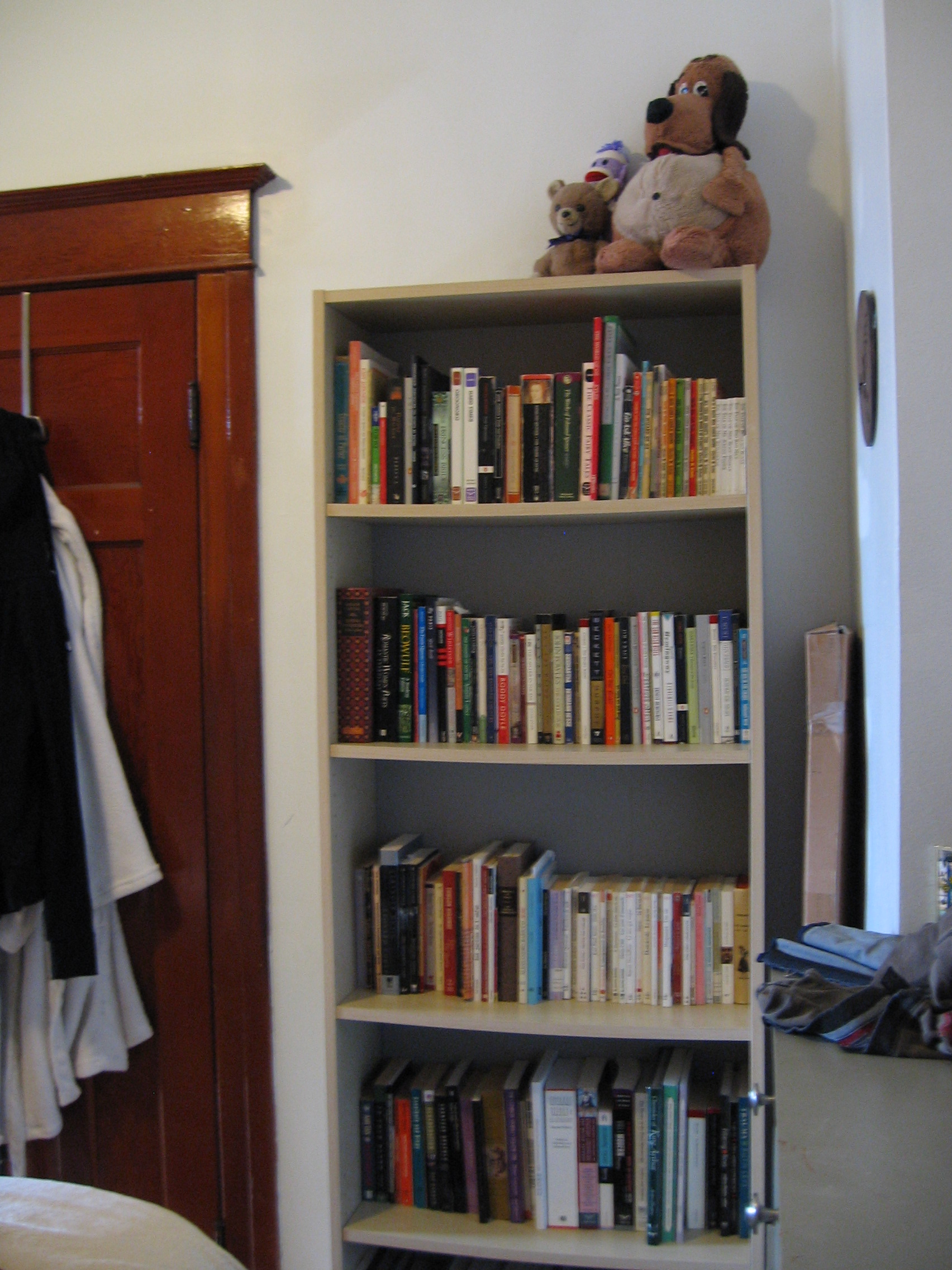 Bookcase with Stuffed Toys