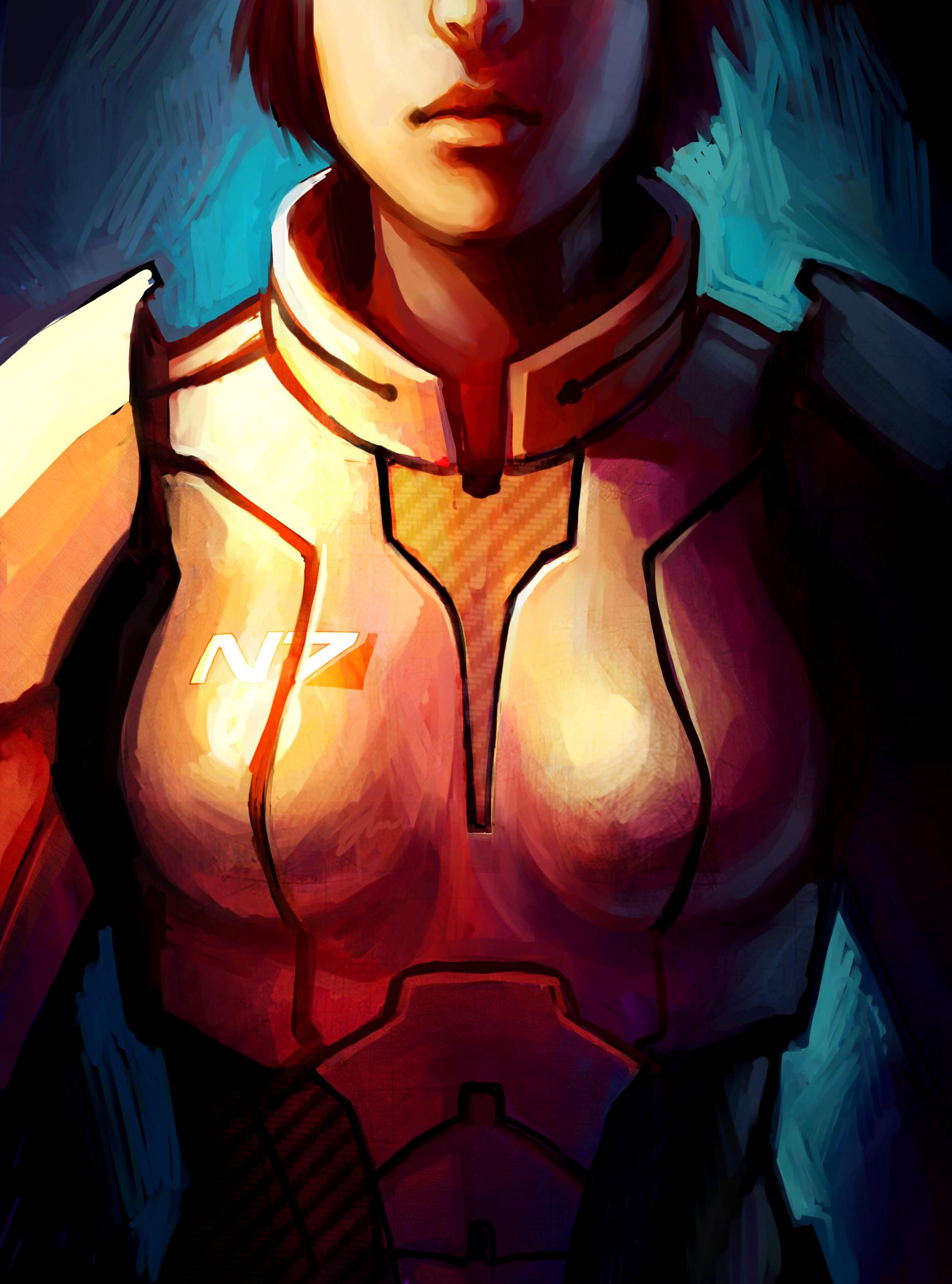 FemShep Commander Shepard