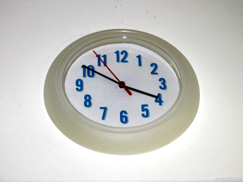 DIY Clock Face Redo